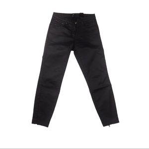H & M black stylish trendy skinny denim jeans